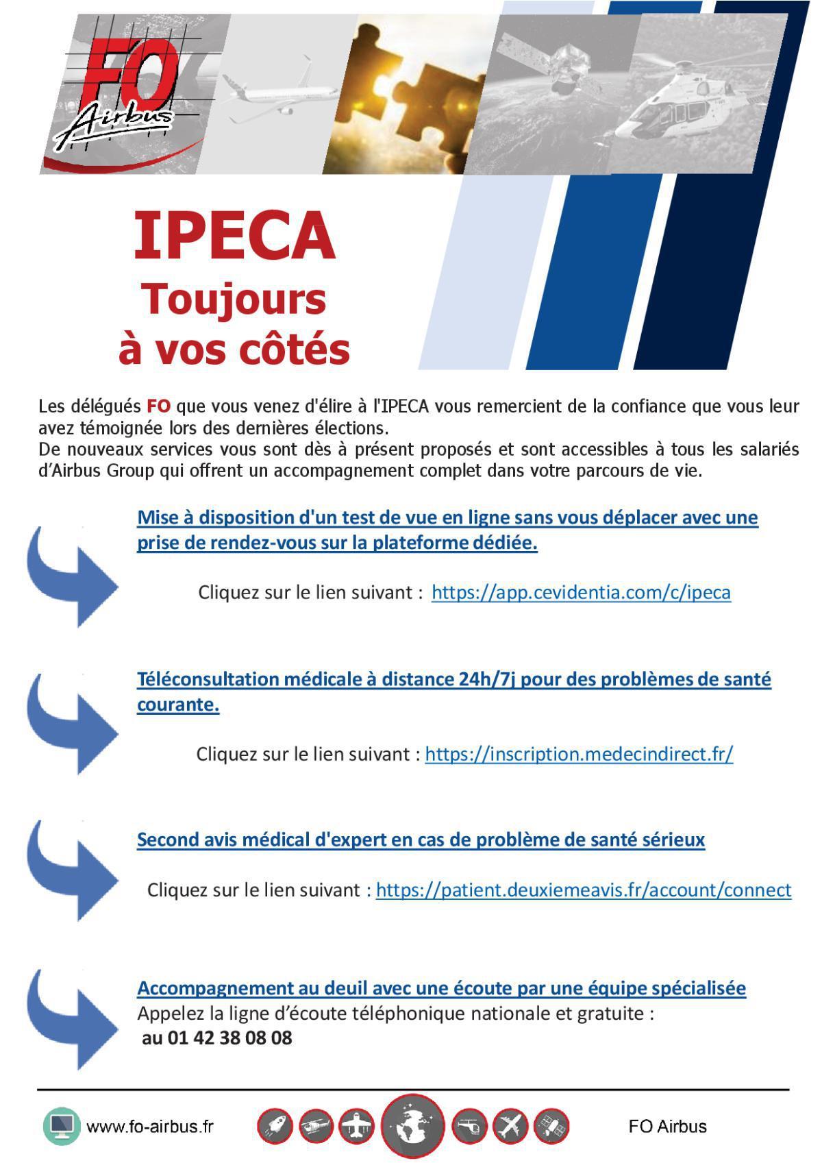 IPECA – Toujours à vos côtés