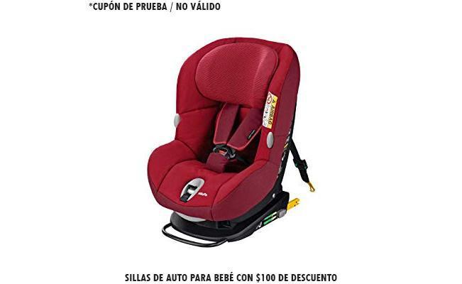 Sillas de auto para bebé con $100 de descuento