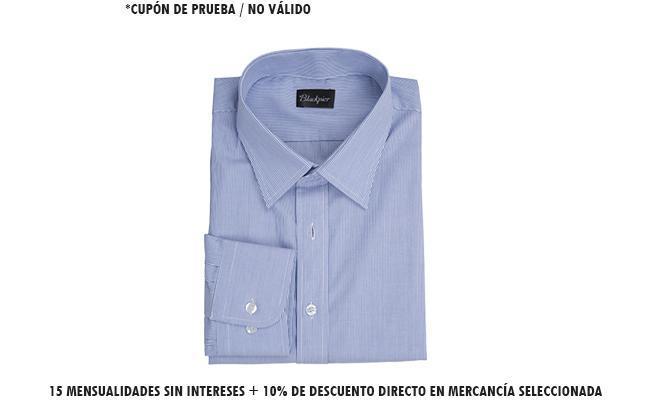 15 mensualidades sin intereses + 10% de descuento directo en mercancía seleccionada