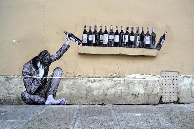 Levalet, mieux que Banksy