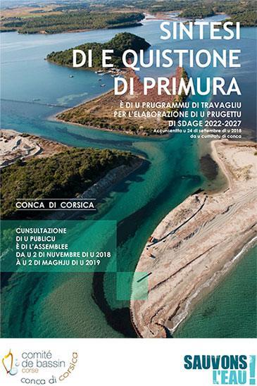 Comité de bassin - Conca di Corsica - SDAGE 2022-2027 : sintesi di e quistione di primura