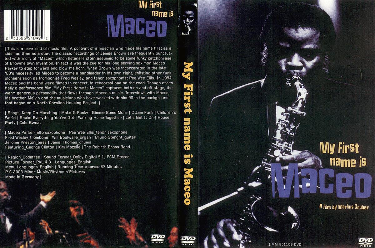"DVD ""My First Name is Maceo"""