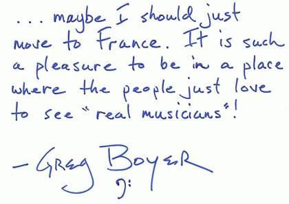 Greg Boyer 2003 27 mars