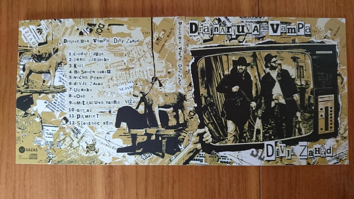 """Naroči CD-Drajnarjuva vampa """"Divji Zahəd"""""""