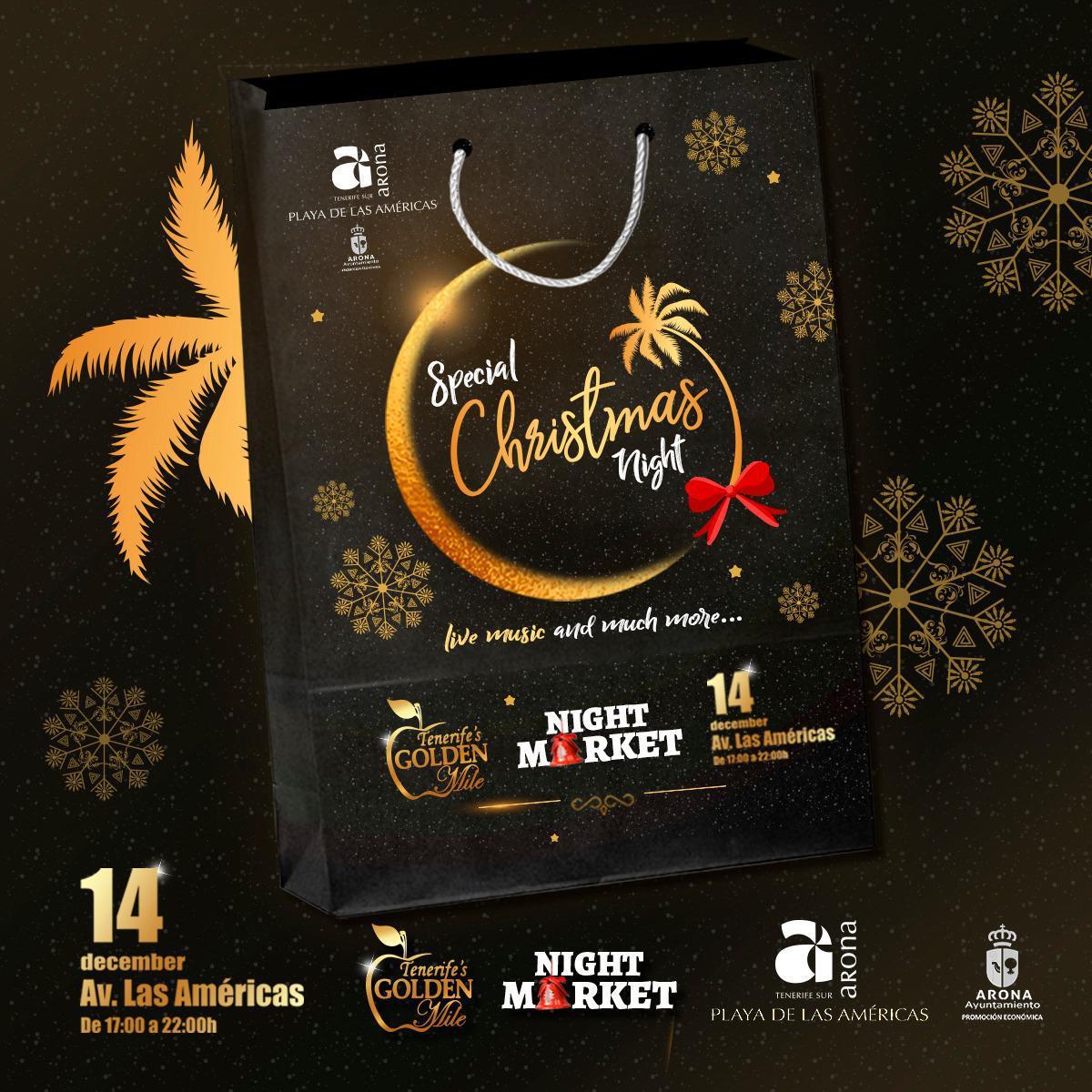 La Milla de Oro celebra una noche especial de Navidad para turistas y residentes