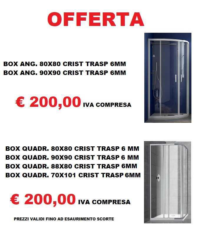 Box Doccia - Offerta Shock!