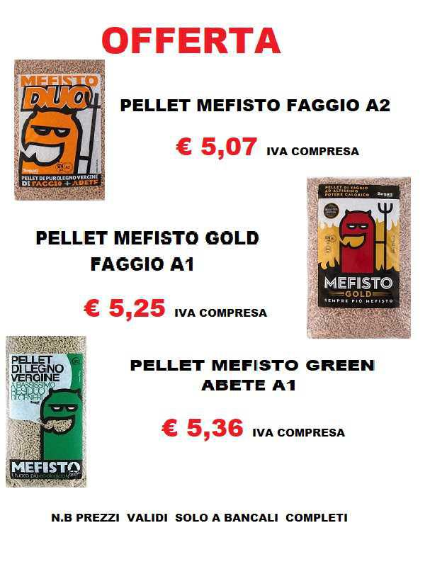 Super Promo... Pellet Mefisto!