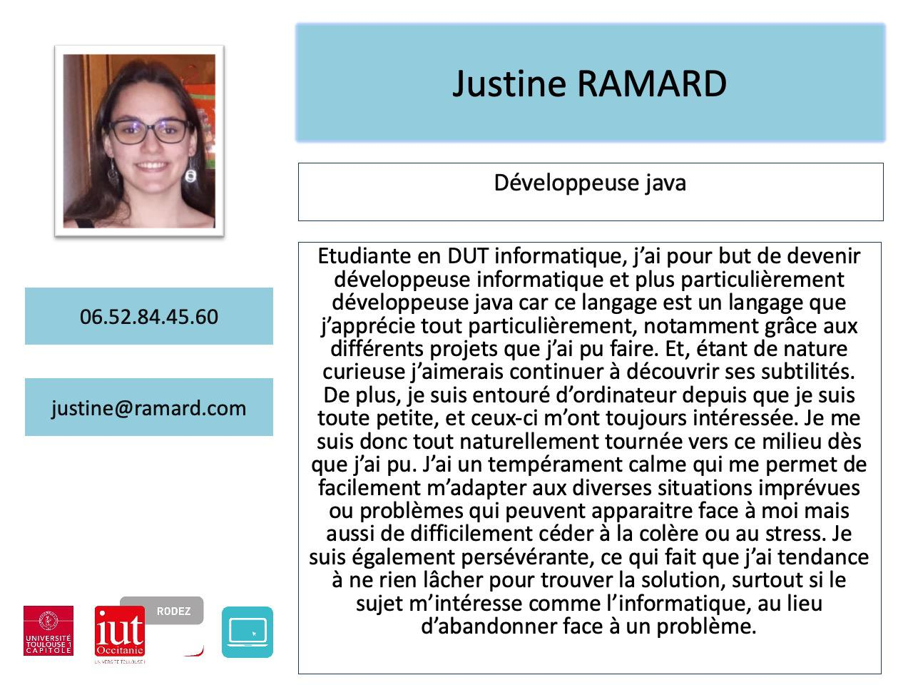 Justine Ramard