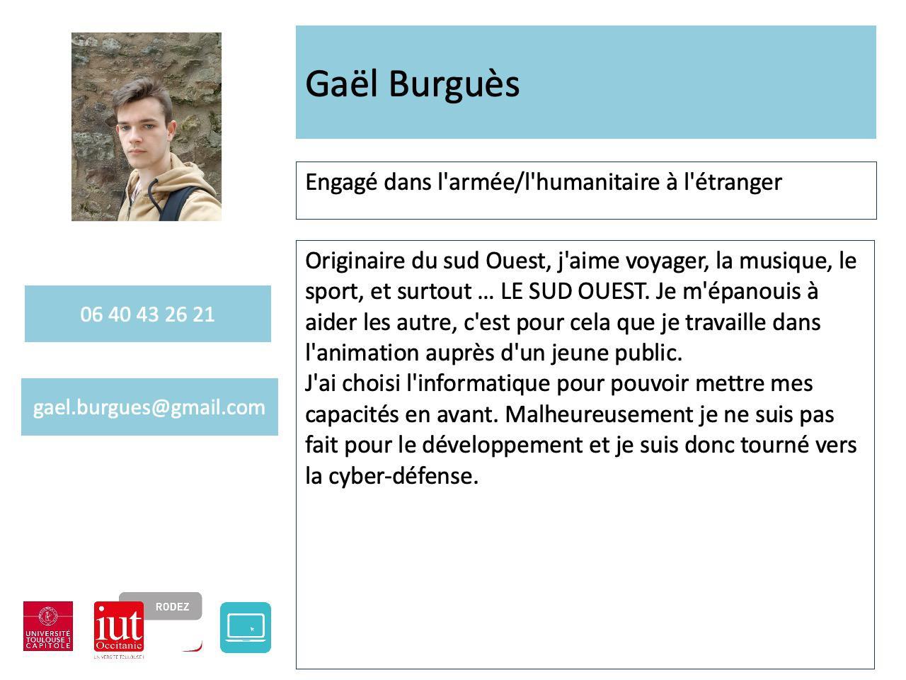 Gaël Burgues