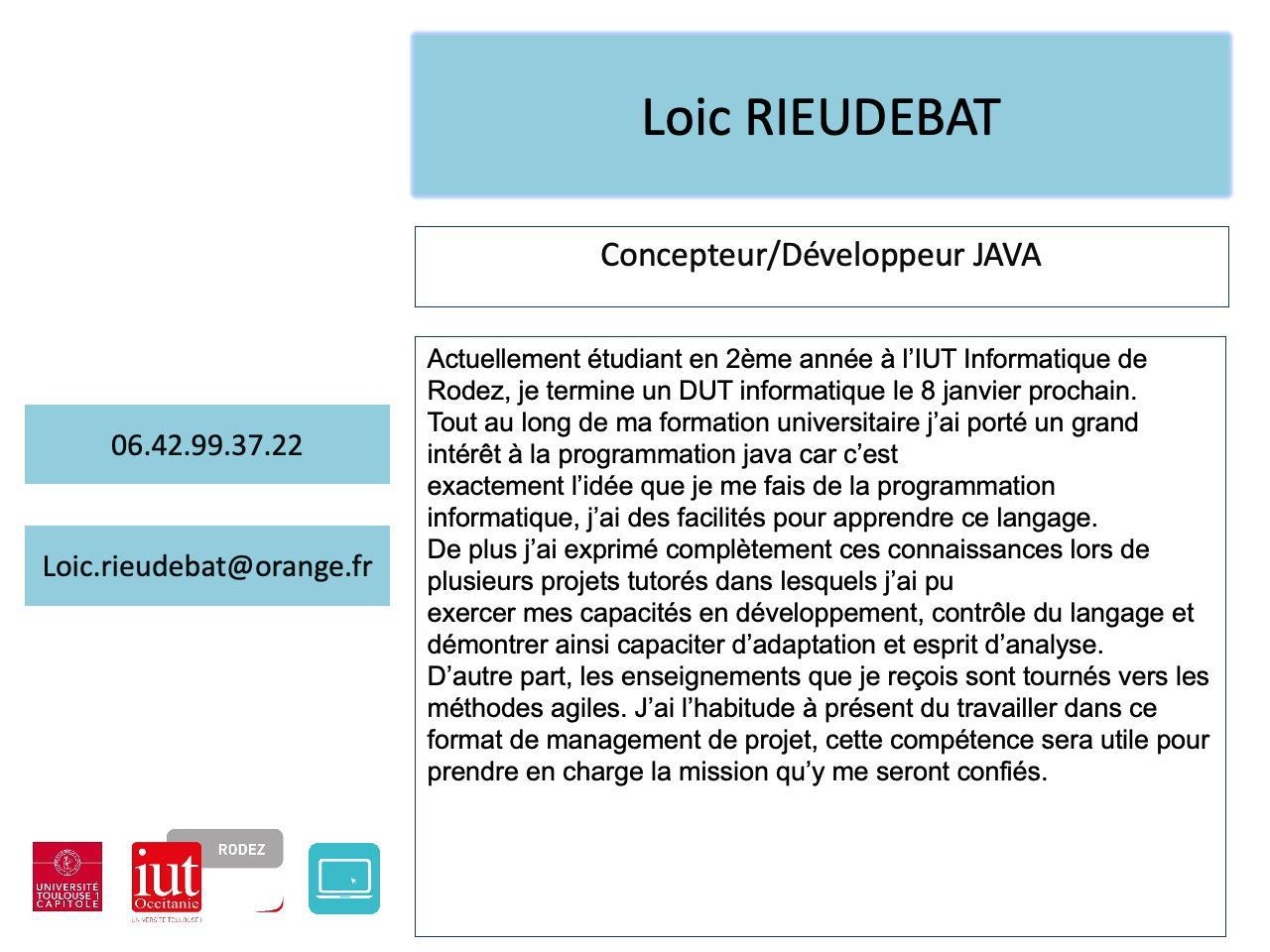 Loic Rieudebat