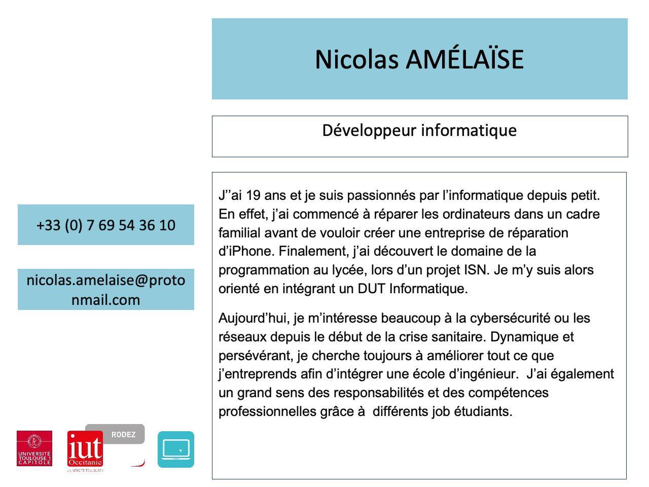 Nicolas Amélaïse