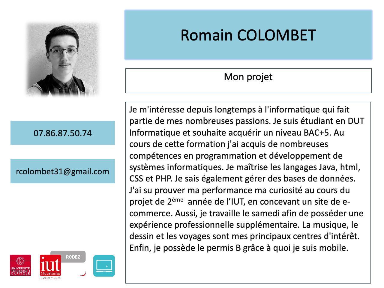 Romain COLOMBET