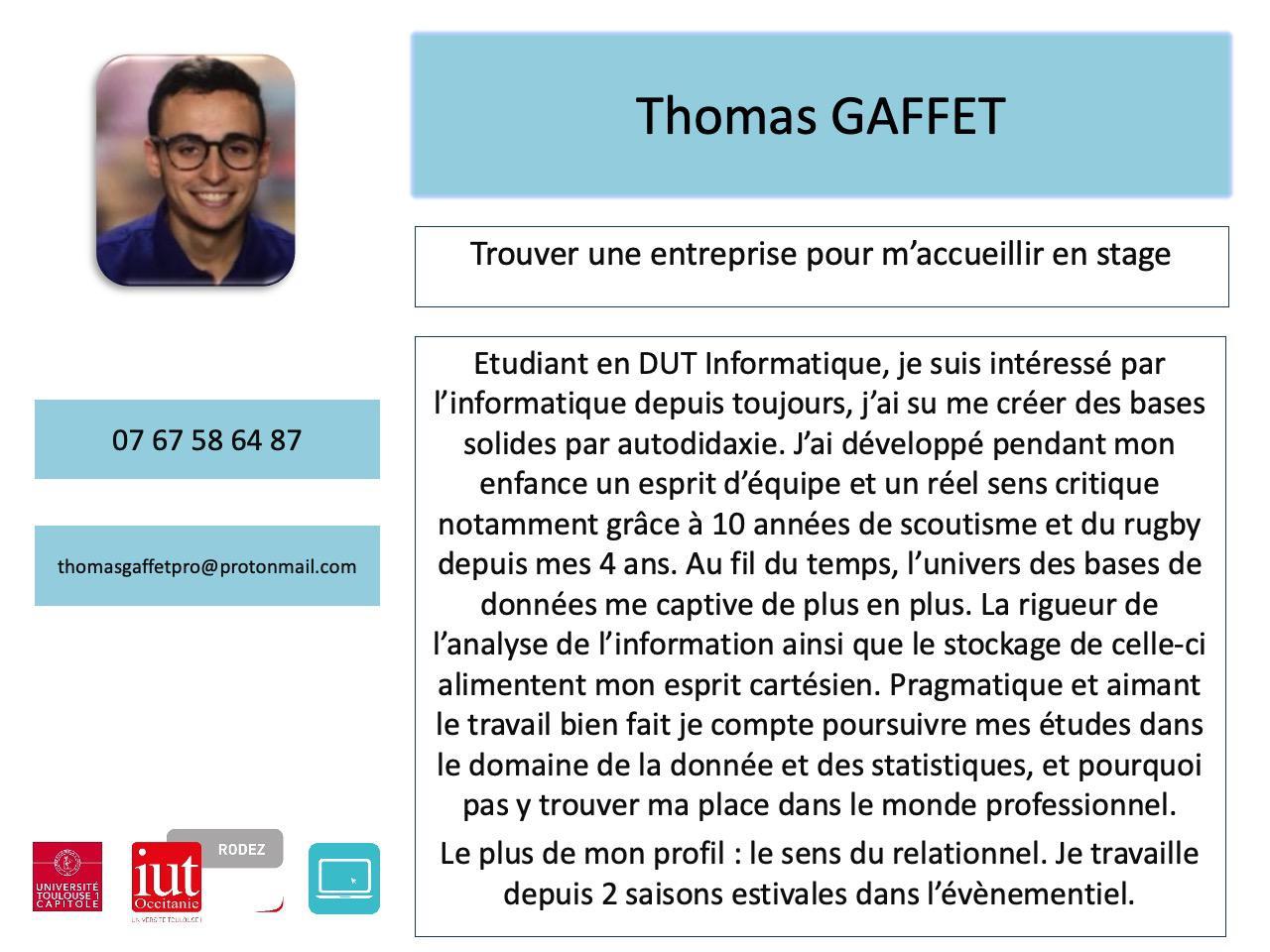 Thomas Gaffet