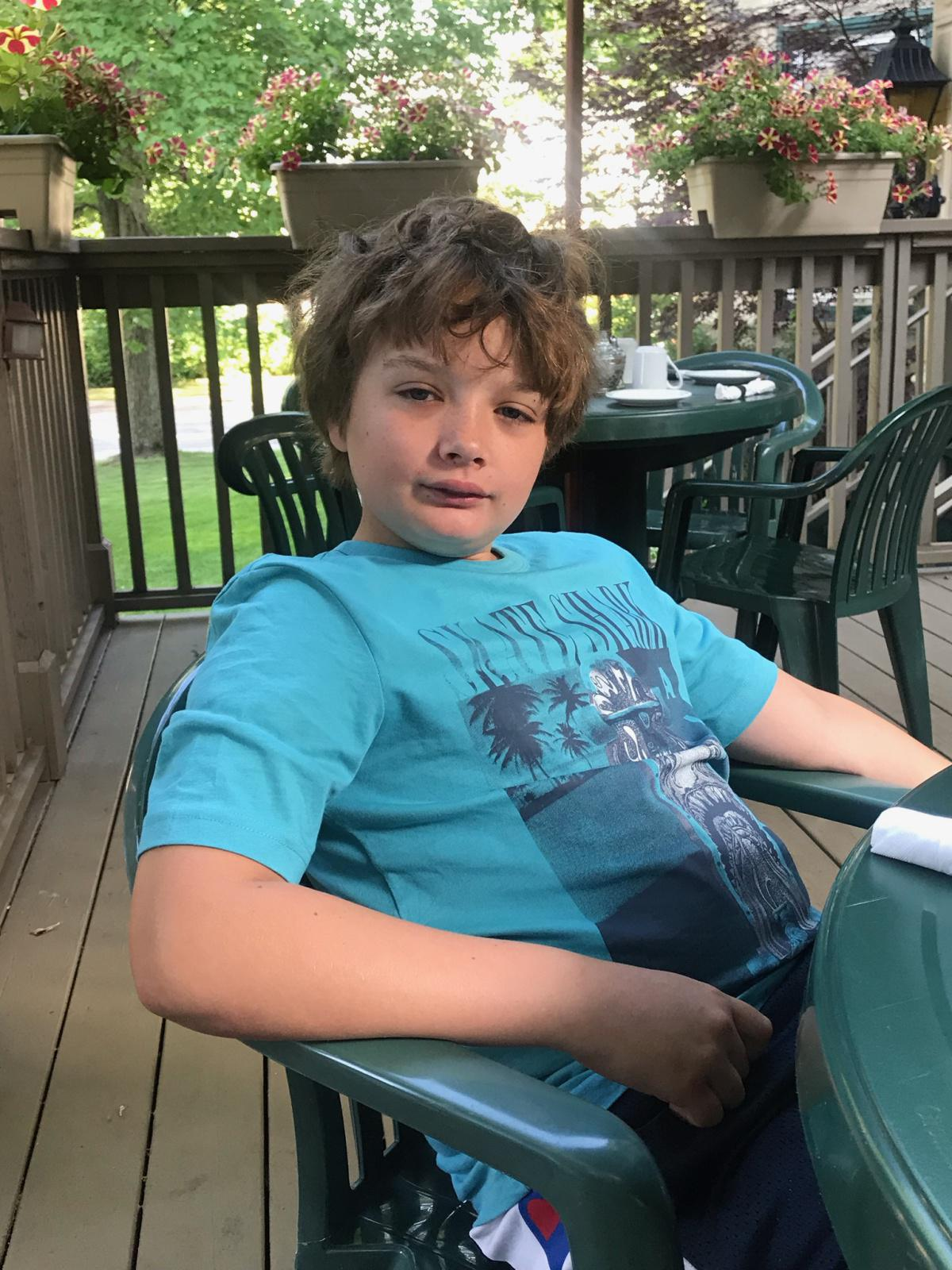 Police searching for missing 9-year-old Graeme & seeking public's assistance. #FindGraeme