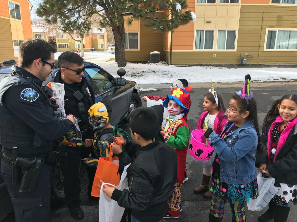 Minor road closures & a reminder to drive safe as Trick-or-Treating begins this evening