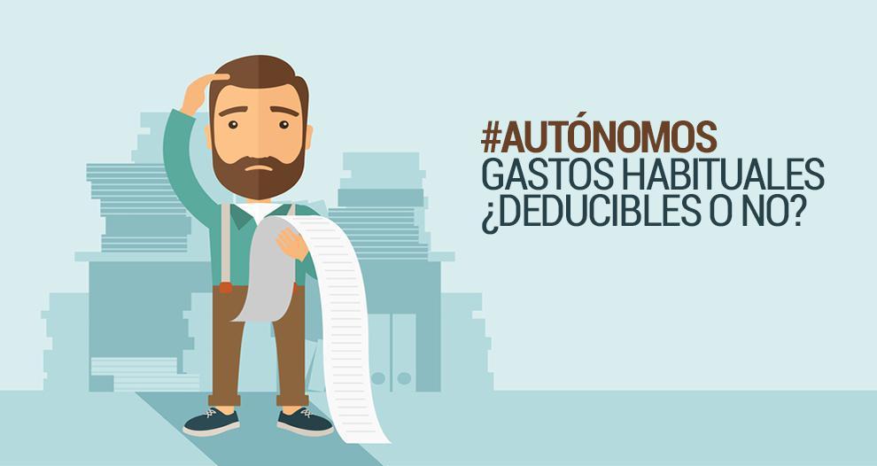 GASTOS DEDUCIBLES PARA LOS AUTONOMOS