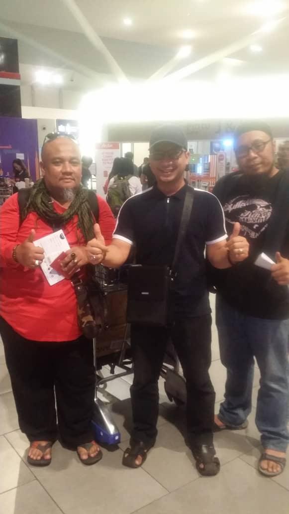 Team managemnet Ke Borneo