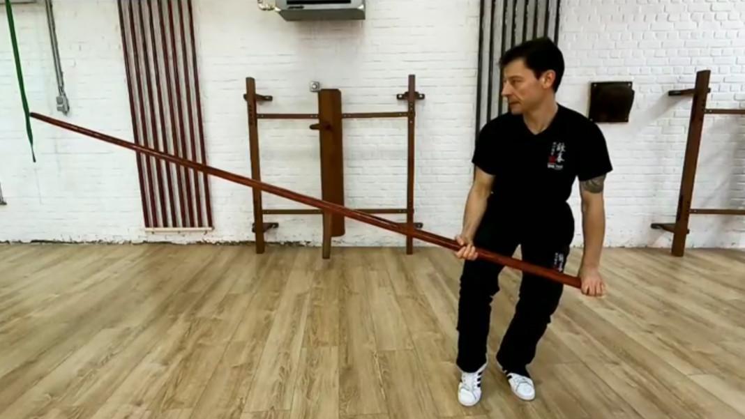 Bâton - Luk Dim Boon Qwan - Forme sans explications