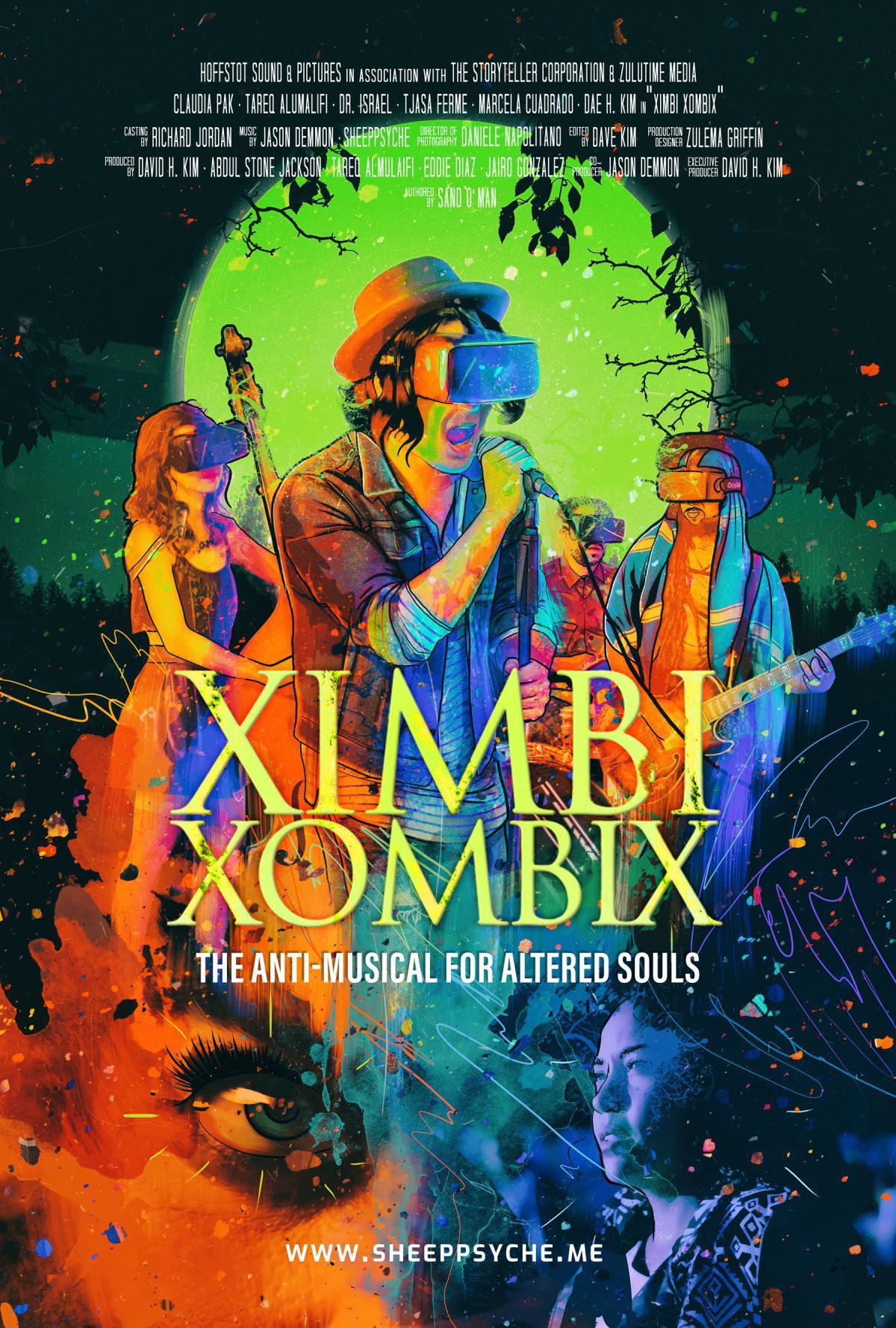 """XIMBI XOMBIX the """"Anti-Musical"""" + Soundtrack"""