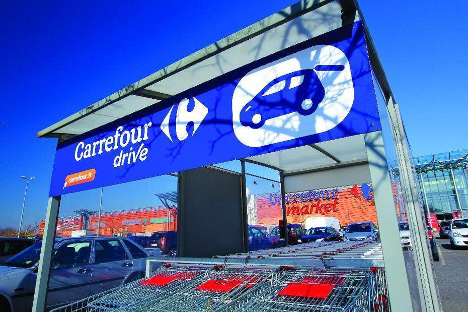 Comment Carrefour travaille les produits de substitution sur le drive ?