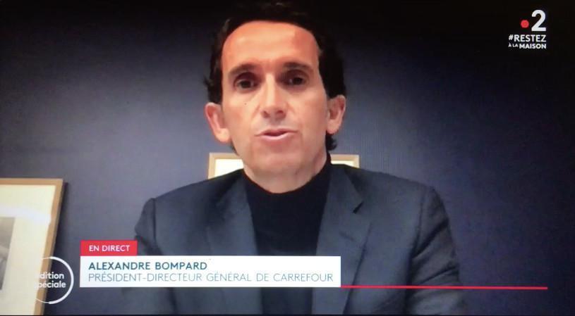 Prime de 1000€, masques, aménagement des horaires, la réponse de FO aux annonces d'Alexandre Bompard