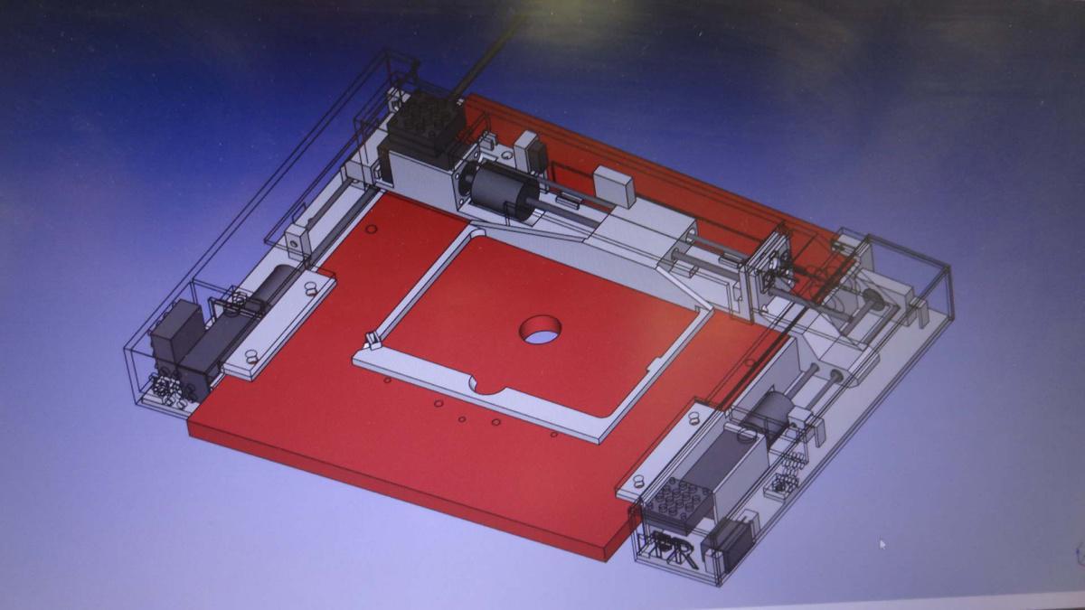 18. Piattaforma motorizzata per microscopi invertiti Olympus IX 50 e IX 70