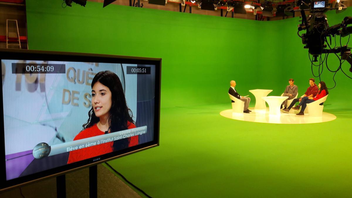 Emission TV RTBF 10 min