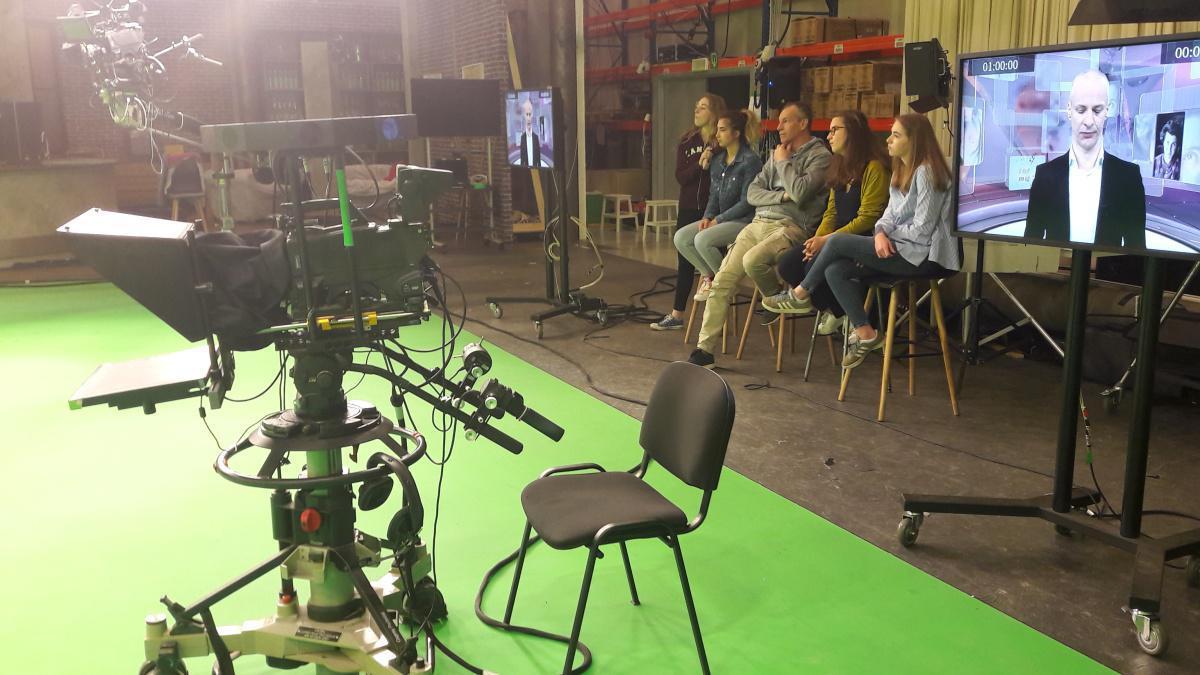 10 min de plateau TV sur RTBF