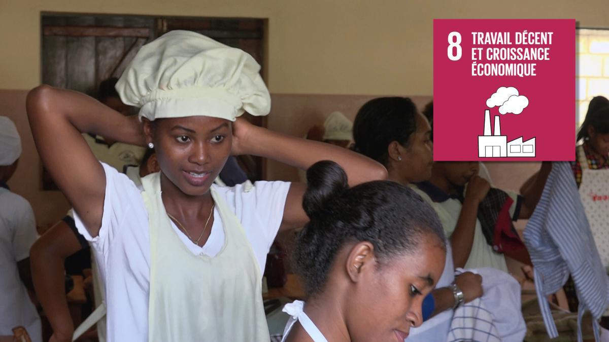 Apprendre un métier à Madagascar