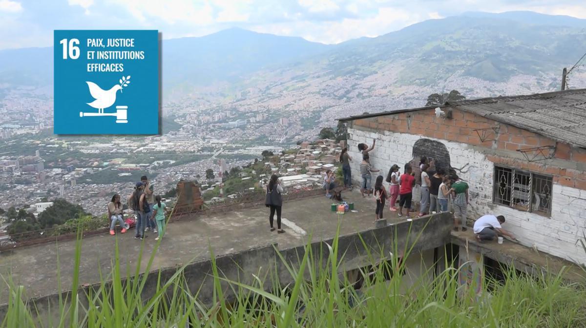 Ex-enfant soldat en Colombie