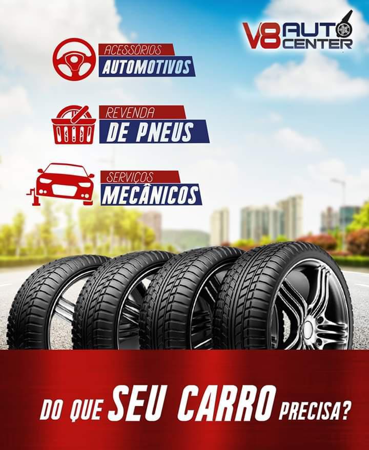 V8 Auto Center