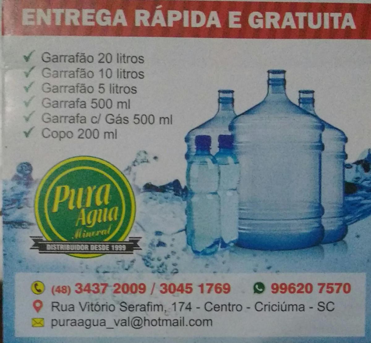 Pura Água Mineral