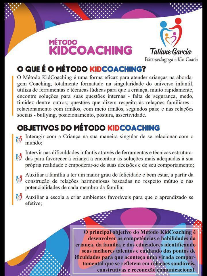 Tatiane Garcia Psicopedagoga e KidCoach