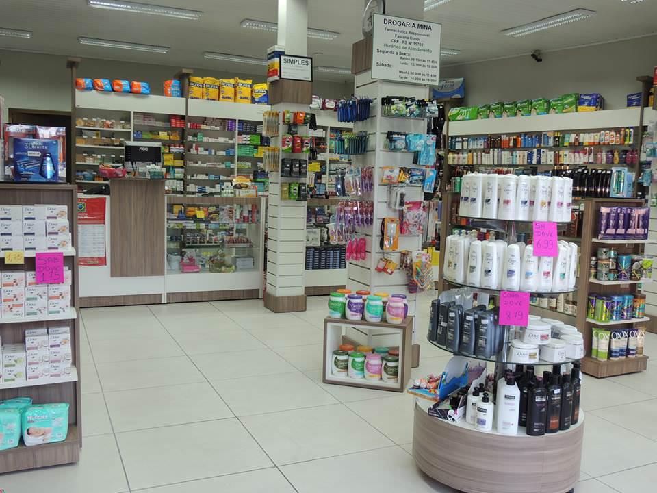 Farmácia e Drogaria Mina