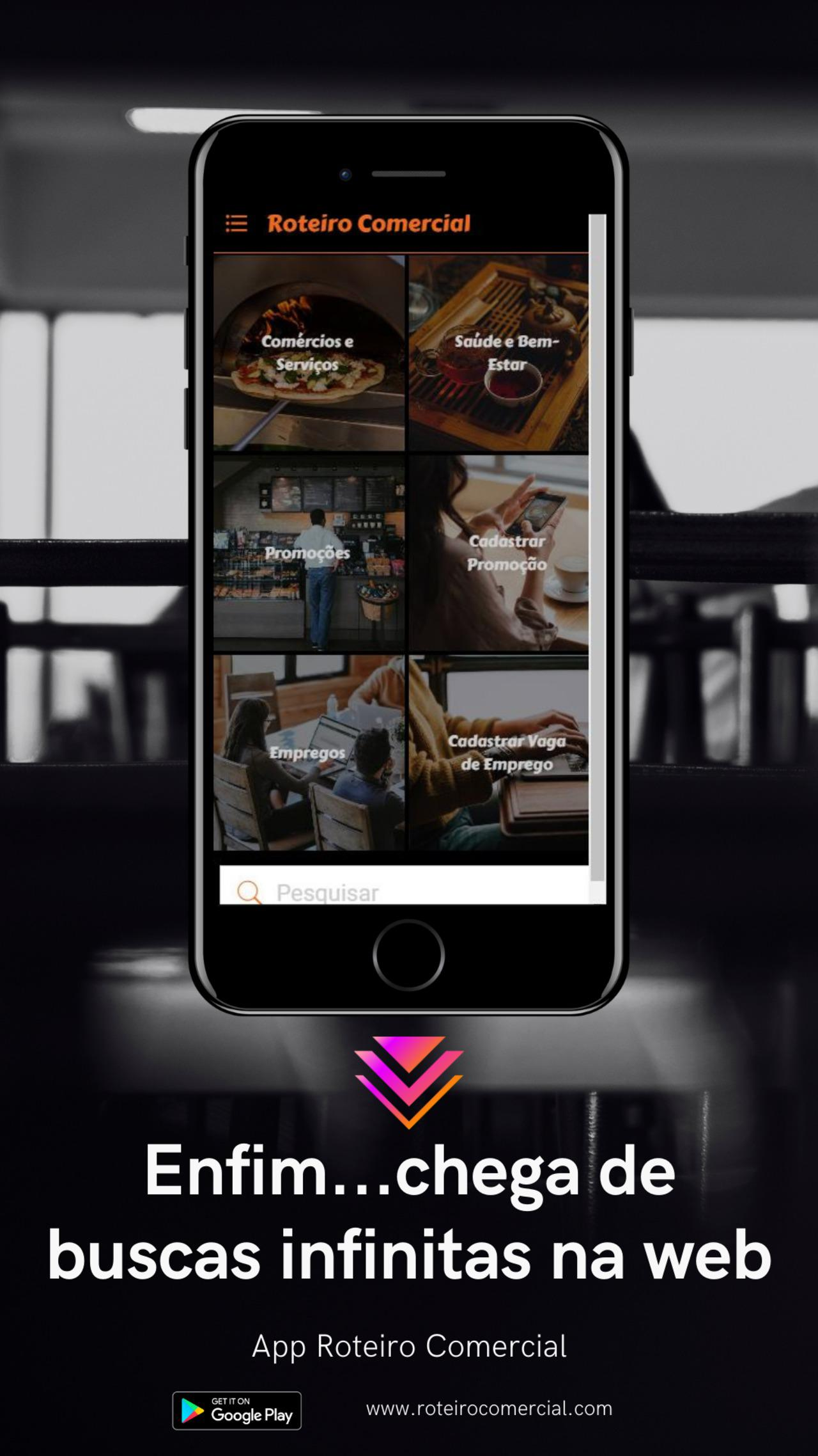 App Roteiro Comercial
