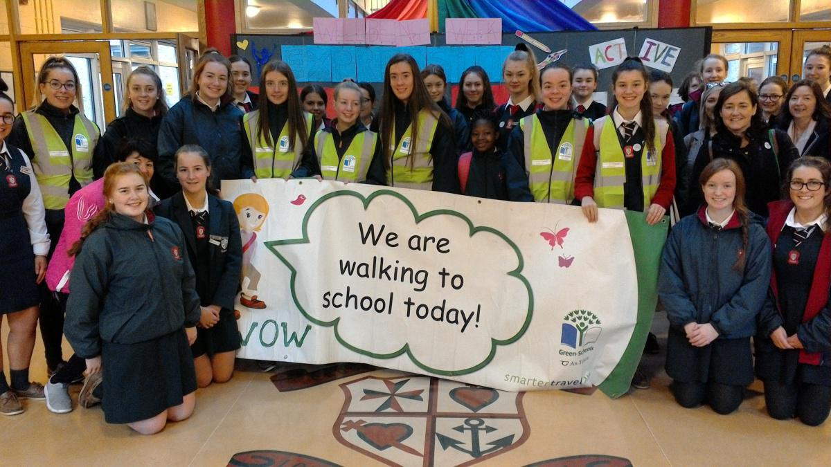 Transport Flag Awarded to Loreto Clonmel