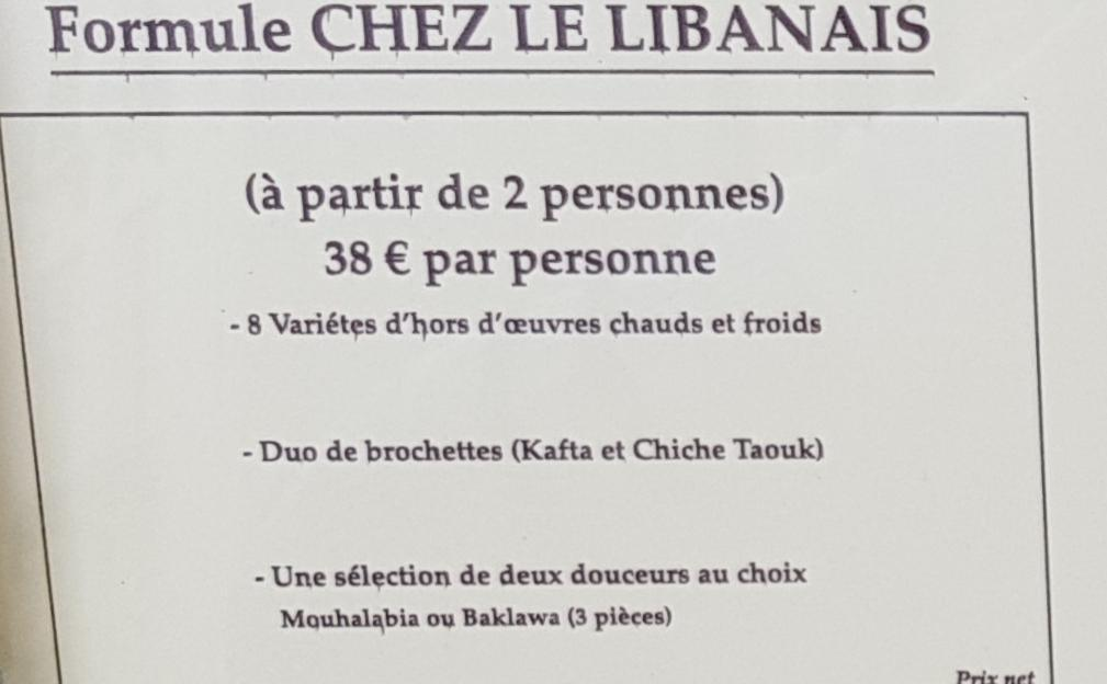 Chezee Libanais