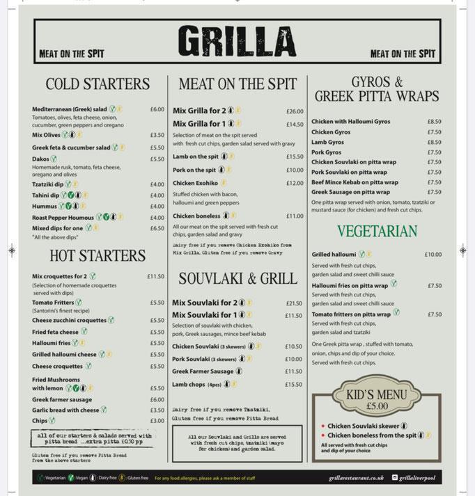 Grilla Allerton Road