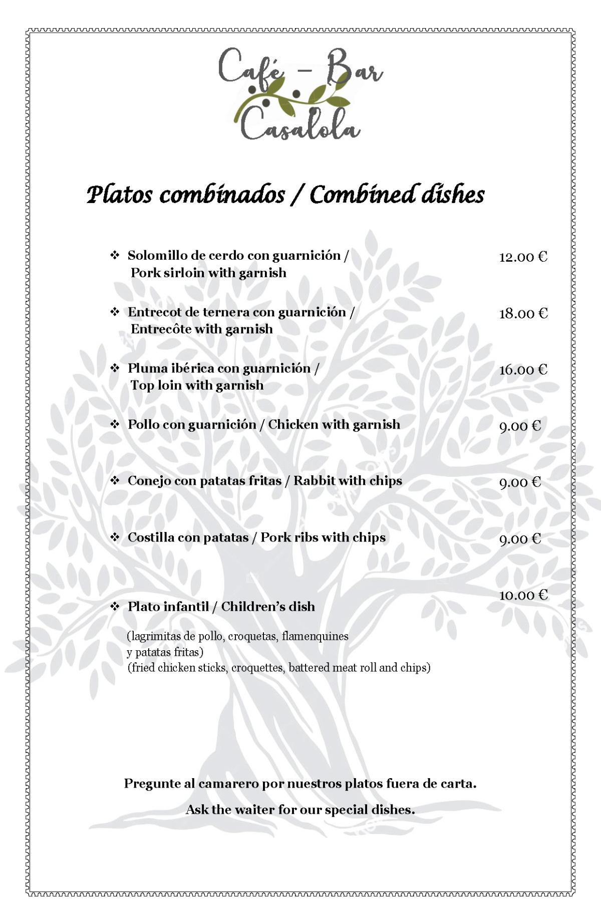 Café-Bar Casalola