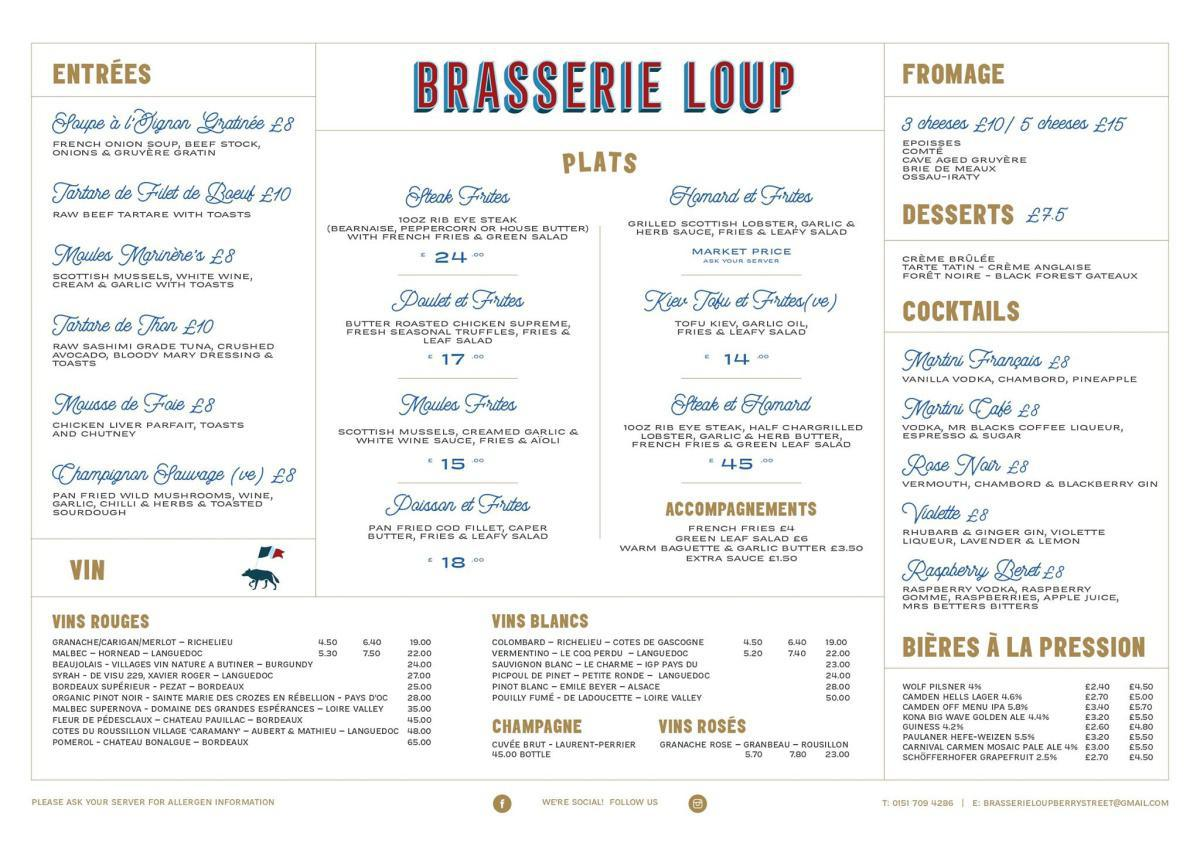 Brasserie Loup