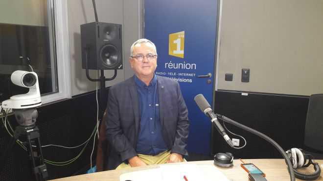 Alban Reverdy, invité de Radio 1ère La Réunion