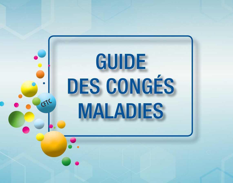 NOUVEAU GUIDE DES CONGÉS MALADIES