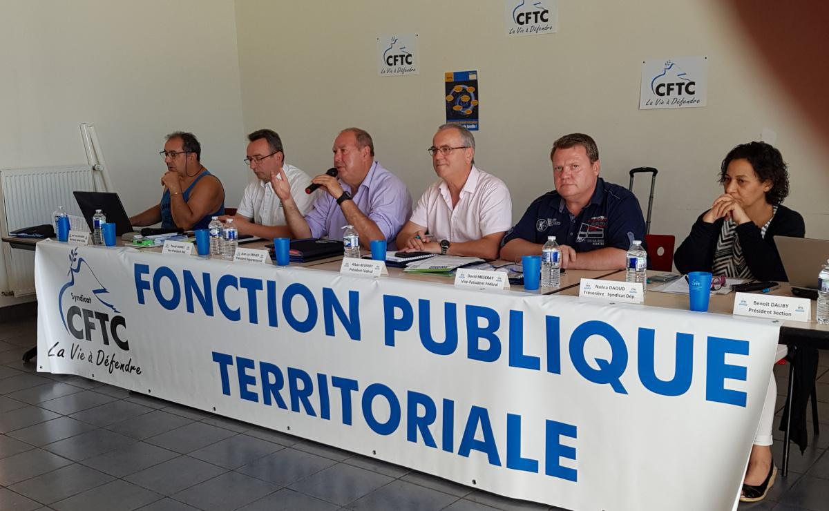 RENCONTRE AVEC LES DÉLÉGUÉS FFPT-CFTC DU NORD