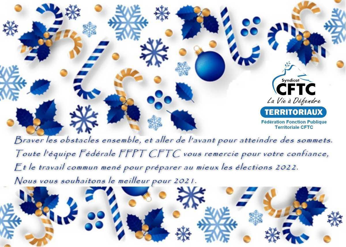 Vœux FFPT-CFTC