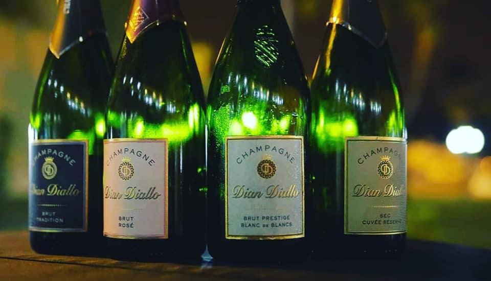 Champagne Dian Diallo