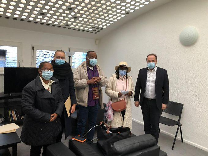 [FRANCE ANTILLES MARTINIQUE] - Empoisonnement au chlordécone : le collectif des ouvriers agricoles à Paris