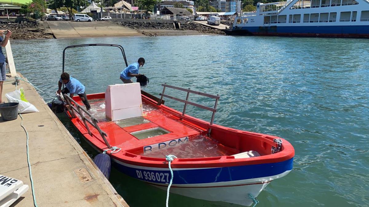 Test de flottabilité validé pour le Caribou !