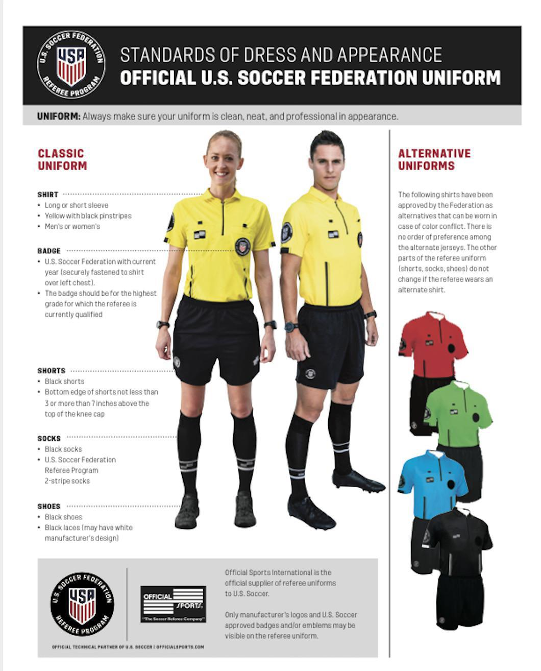 Become A U.S. Soccer Referee