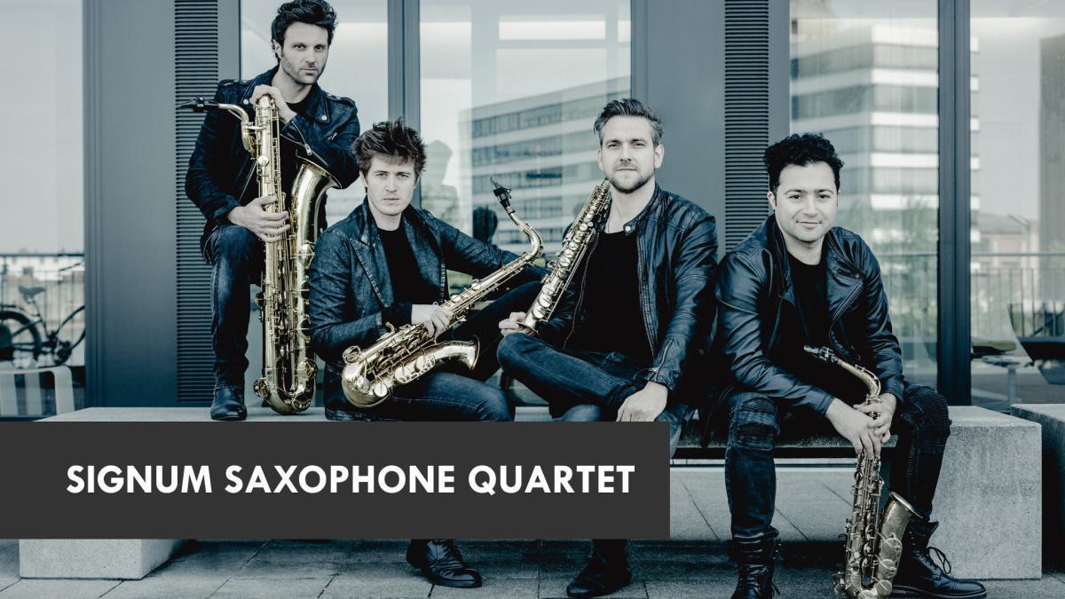 Signum Saxophone Quartet e Alexej Gerassimez