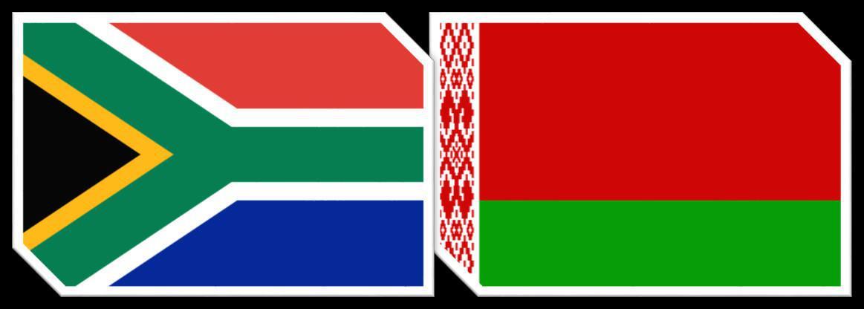 Match Report : South Africa 6 vs 0 Belarus - W +40